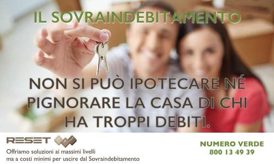 Non si può ipotecare né pignorare la casa di chi ha troppi debiti.